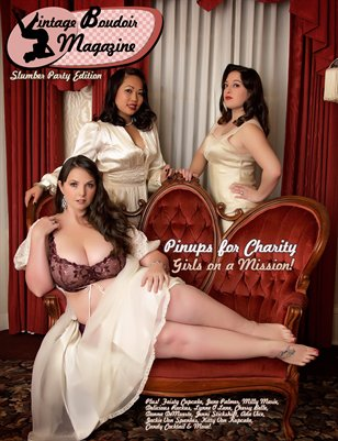Vintage Boudoir Magazine - Slumber Party Issue
