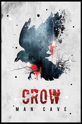 Crow Man Cave #1 - Poster