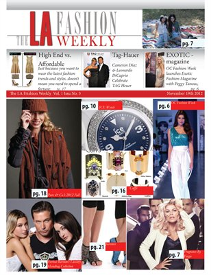 The LA Fashion Weekly Vol 1 No3