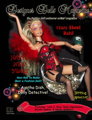 Designer Dolls Magazine - January, 2013