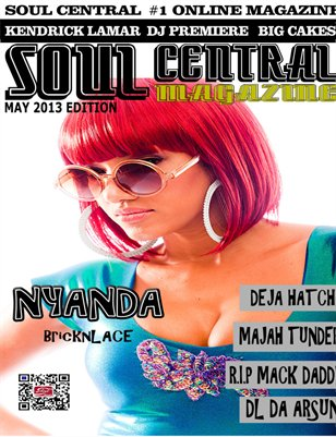 Soul Central Magazine May 2013