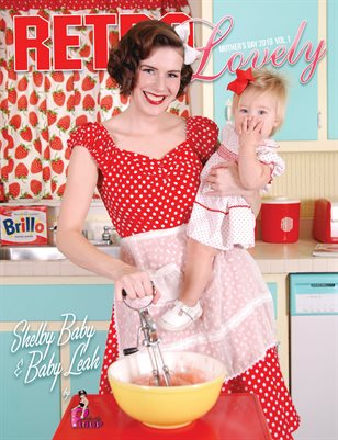 Retro Lovely Mother's Day 2019 Vol.1 - Shelby Baby & Baby Leah Cover