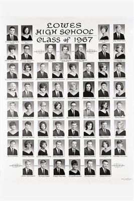1967 Lowes High School Seniors