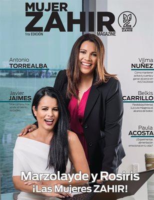 Mujer ZAHIR Magazine 1ra Edición