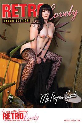 Mx. Regina Spade Cover Poster