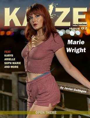 Kayze Magazine - issue 7 ( Marie wright )