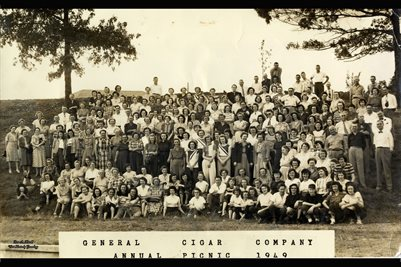 1949, General Cigar Company Annual Picnic, Paducah, Kentucky
