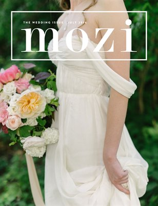 Mozi Magazine, July 2016, Wedding