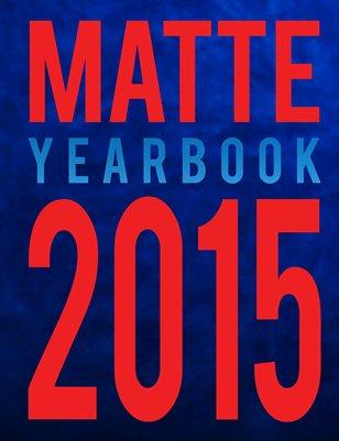 2015 MATTE Yearbook