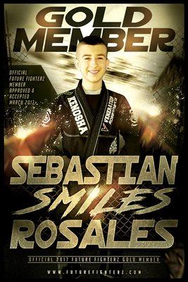Sebastian Rosales Gold Member/Diploma Poster