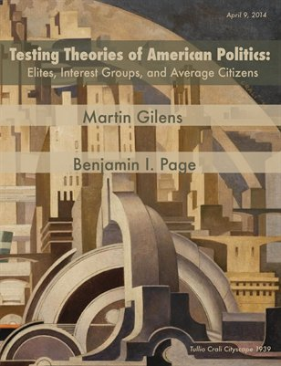 Testing Theories of America Politics