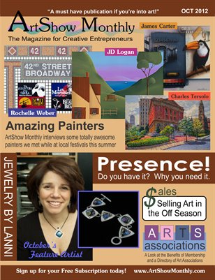 ArtShow Monthly Oct2012