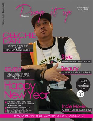 Pump it up Magazine - Geechie Dan - Vol.6 - #1