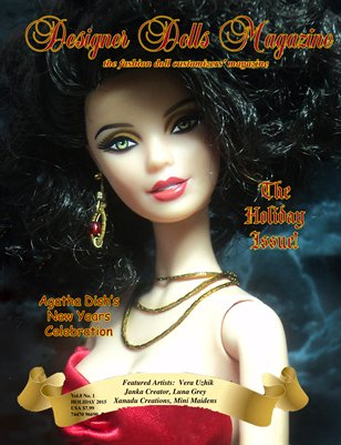Designer Dolls Magazine - The Holiday Issue 2015