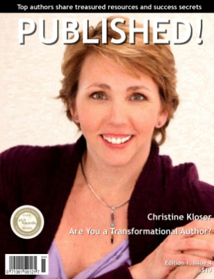 PUBLISHED! Excerpt featuring Christine Kloser