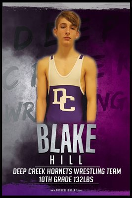 Blake Hill DC #2 Poster