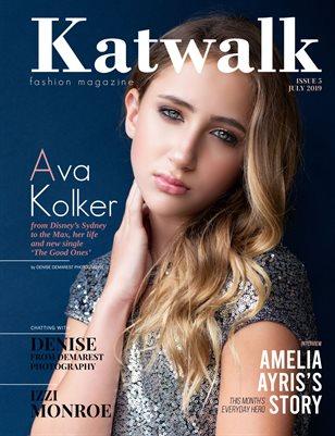 Katwalk Fashion Magazine, July 2109, Issue 6.
