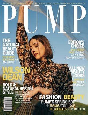 PUMP Magazine - The Art of Fashion - Vol.2 - April 2020