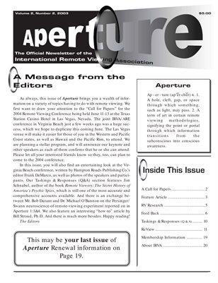 APERTURE, 2003, Issue 06