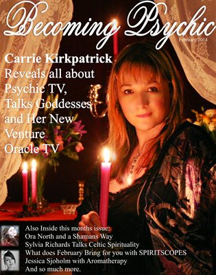 Becoming Psychic Magazine February issue
