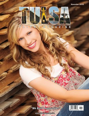 Tulsa Talent Magazine November 2016 Edition