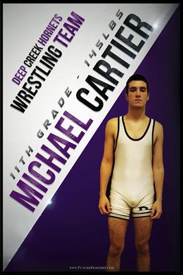 Michael Cartier DC #1 Poster