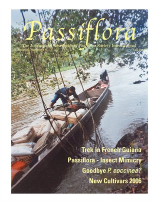 PSI Newsletter Fall 2006, Volume 16, Number 2