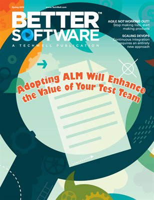 Better Software magazine Spring 2015