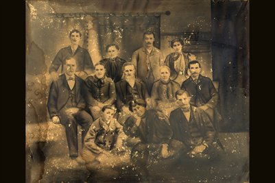 Thompson Family of Sharpe, Marshall County, Kentucky