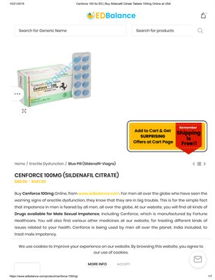 Cenforce Tablets for Men's..