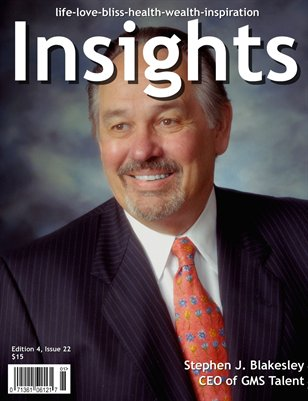 Insights Magazine featuring Stephen Blakesley