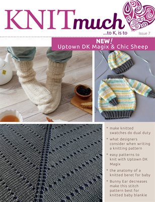 KNITmuch Issue 7