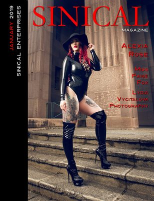 Sinical January 2019 Issue - Alexia Rose Cover