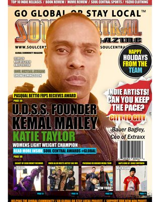 Soul Central Magazine #76 CEO Kemal Mailey