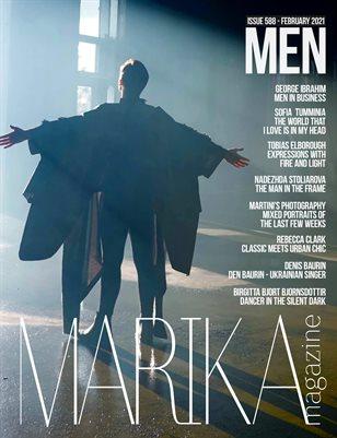 MARIKA MAGAZINE MEN ( ISSUE 588 - February )