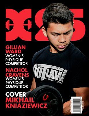 X25 Muscle Magazine Issue 5 Mikhail Kniaziewicz