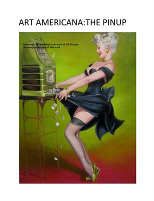 ART AMERICANA:THE PINUP