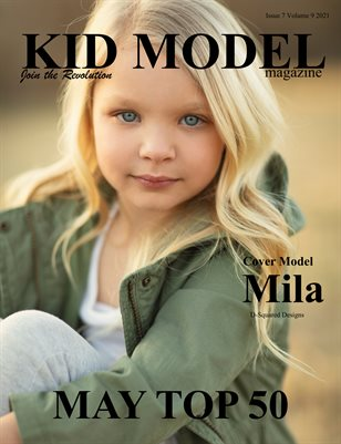 Kid Model Magazine Issue 7 Volume 9 2021 May Top 50