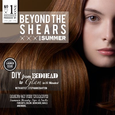 Aidan James Salon: Beyond the Shears Summer 2013 No.1