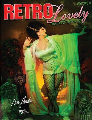 Retro Lovely Halloween 2019 Volume No.9 – Ava Lanche Cover