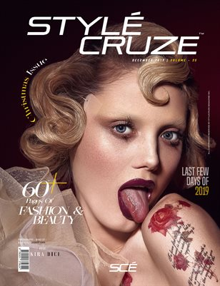 December 2019 Issue (Vol: 35) | STYLÉCRUZE Magazine