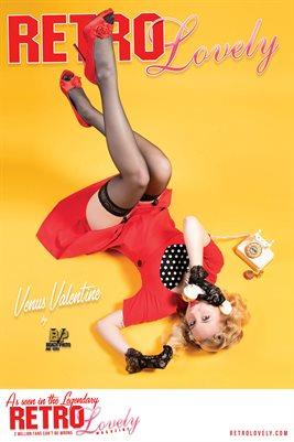 Venus Valentine Cover Poster