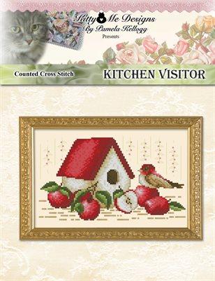 Kitchen Visitor Cross Stitch Pattern