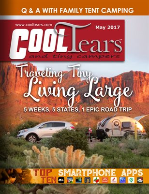 Cool Tears and Tiny Campers Magazine May 2017