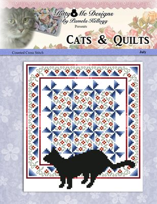 Cats And Quilts July