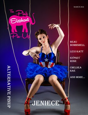 The Pink Elephant Pinup Alternative Pinup Issue March 2016