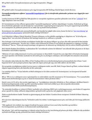 BP og Shell raidet i Europakommisjonen pris-rigg-forespørselen | WellSphere