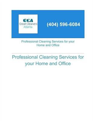 Great Cleaners Atlanta and Acworth