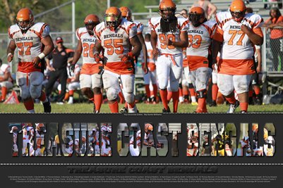 2014 Team Poster Treasure Coast Bengals