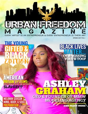 """Young,Gifted & Black"" Vol 1:  Cover Ashley Graham"